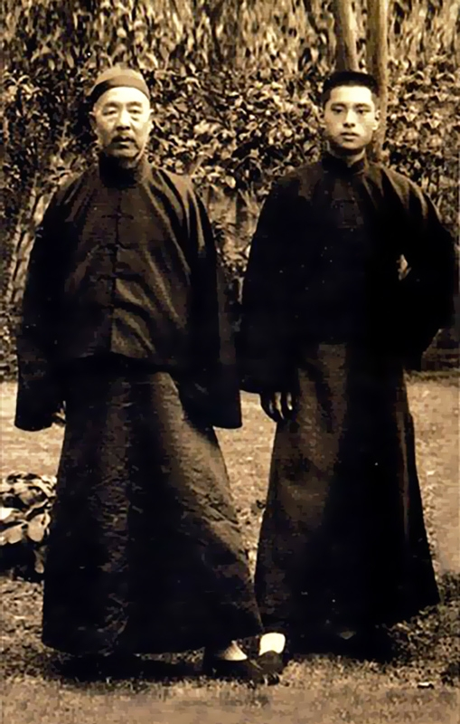 Zhang Zhao Dong and his student Zhao Dao Xin.